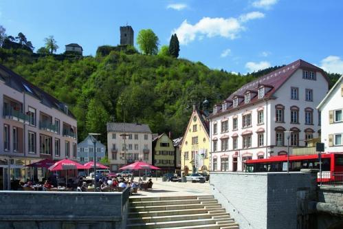 Bärenplatz in Hornberg