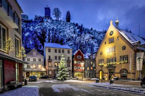 Bärenplatz im Winter