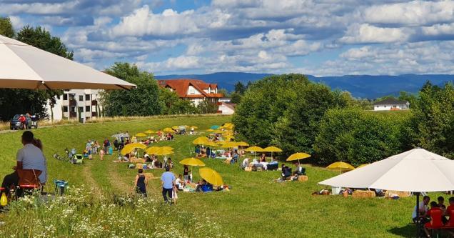Bild vom Picknick an der Kinzig 2020