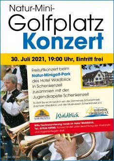 Natur-Minigolfplatz-Konzert