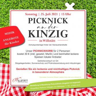Plakat zum Picknick