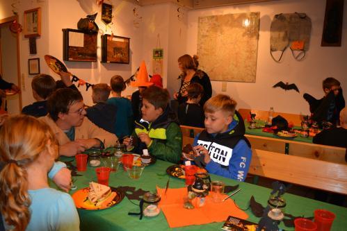 Kinder Halloween im Besucherbergwerk Grube Wenzel